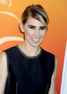 "Celebrity Zosia Mamet, of the hit HBO show ""Girls"" openly discusses her struggle with pelvic pain"